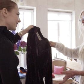 Converted Closet episode 1 YSL vintage suit